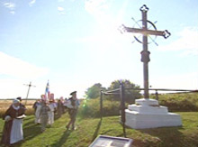 Acadian Deportation Cross. Nova Scotia, Canada